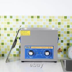 10L Qt Ultrasonic Cleaner 300W Digital Heated Industrial Parts Timer & Heater