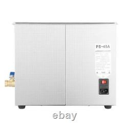 10L Ultrasonic Cleaner Cleaning Equipment Liter Heated With Timer Heater Industry