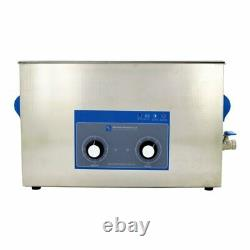 10L heated dental / surgical ultrasonic cleaner (L) 505 x (W) 135 x (H) 150 mm