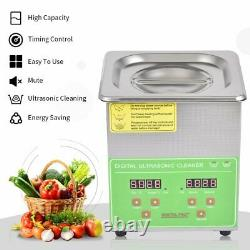 15L 10L 6L Commercial Ultrasonic Cleaner Industry Heated Heater Jewelry Glasses