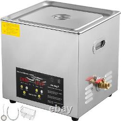 15L 600w Stainless Steel Industry Ultrasonic Cleaner Heated Heater withTimer