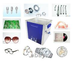 15L Degas Sweep Heated Ultrasonic Cleaner Engine Parts Cleaning Machine
