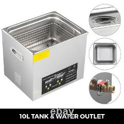 15L Ultrasonic Cleaner High Heated Power Clean Equipment for Auto Parts with Timer