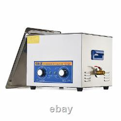 15L Ultrasonic Cleaner Stainless Steel Industry Heated Heater Sonic Cleaner