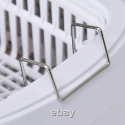 2.5 L Digital Heated Ultrasonic Jewelry Eyeglasses Goggles Rings Cleaner Tool
