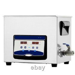 20L Ultrasonic Cleaner Stainless Steel Industry Heated Heater withTimer US Stock