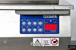 2407 FINNSONIC HEATED ULTRASONIC CLEANER 420 x 225 x 225MM M40I