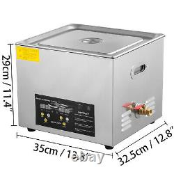 2L 3L 6L 10L 15L Industry Digital Industry Heated Ultrasonic Cleaner WithTimer