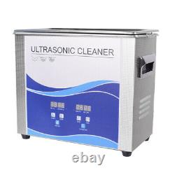 3.2L 120With150W Ultrasonic Cleaner Stainless Steel Industry Heated Heater US