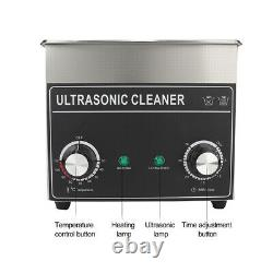 3.2L Digital Ultrasonic Cleaner 150W Bath Cleaning Heating Heater Timer 220-240V