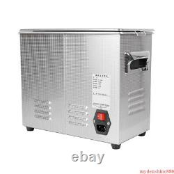3.2L Digital Ultrasonic Cleaner Jewelry Cleaning Stainless Steel Machine Heating