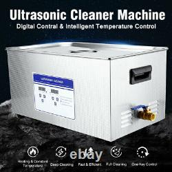 30L Ultrasonic Cleaner Cleaning Equipment Liter Industry Heated Timer Heater