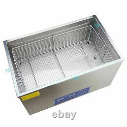 30l Qt Ultrasonic Cleaner 800W Digital Heated Industrial Parts with Timer & Heater