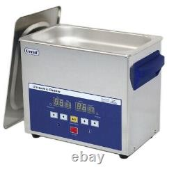 3L Digital Touch Control Ultrasonic Cleaner DR-LQ30 LED Show 120W Timer Heated