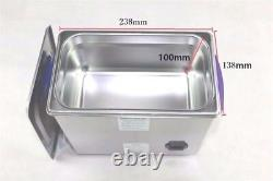 3L Printer Heads Ultrasonic Cleaner With Sweep Degas Heated Timer 160W 40KHz