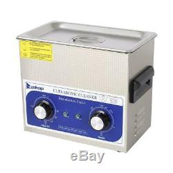 3L Stainless Steel 3 Liter Industry Heated Ultrasonic Cleaner Heater with Timer