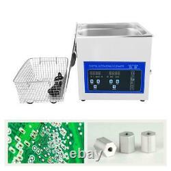40khz Ultrasonic Cleaner Bath 2.0L Digital Ultrasound Sonic Cleaner Timer Heat