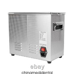 6.5L Ultrasonic Cleaner with Heating Bath For Dental Tool/Watches/Glasses/Coins