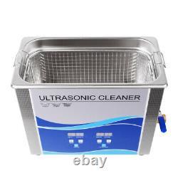600W 30L Ultrasonic Cleaner&Heat Bath For Metal Hardware Fuel Injector Nail FDA
