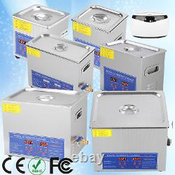 650ml-15L Ultrasonic Cleaner Cleaning Equipment Industry Heated WithTimer Heater