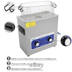 6L 180W DIGITAL HEATED INDUSTRIAL Stainless Steel ULTRASONIC PARTS CLEANER
