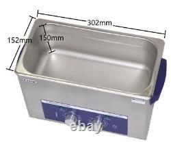 6L Parts PCB Ultrasonic Cleaner Heated and Timer ultrasonic bath machine cheap