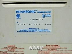 Branson 1210R-DTH Ultrasonic Cleaner, Digital, Timer, Heated