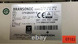 Branson 2018 CPX2800H-E Powerful Ultrasonic Cleaner 0.75G Tank Digi Heating Deal