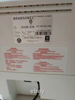 Branson 3510 Bransonic 3510R-DTH Ultrasonic Cleaner 1.5 Gal Heated