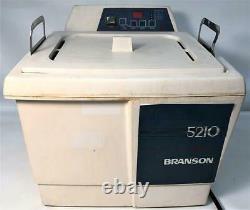 Branson 5210R-DTH Heated Ultrasonic Cleaner 9.5L