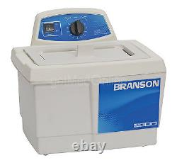 Branson M2800H 0.75 Gal. Heated Ultrasonic Cleaner with60 Min. Timer, CPX-952-217R