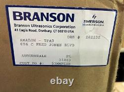 Branson M2800H Bransonic. 75gal Ultrasonic Cleaner with Timer&Heated Tank 120V