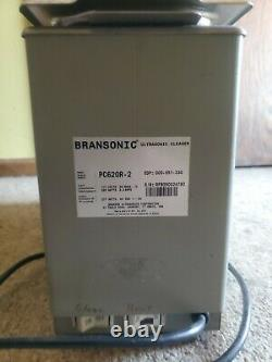 Branson PC-620 heated ultrasonic cleaner