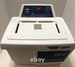 Bransonic 2210-MTH Powerful Ultrasonic Cleaner Water Bath 0.75G Tank, Heating MT