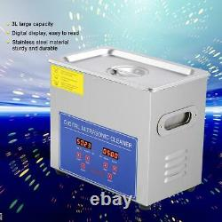 CLEARANCE! Stainless Digital Ultrasonic Cleaner Industry Heated Heater Tank