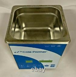 Cole-Parmer 2 Liter Ultrasonic Cleaner with Digital Timer and Heat, 08895-01