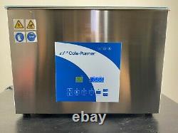 Cole-Parmer 27 Liter Ultrasonic Cleaner with Digital Timer Heat 120V 08895-76