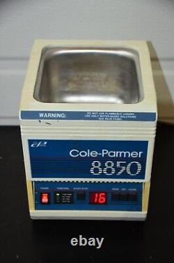 Cole-Parmer 8850-34 Digital Ultrasonic Cleaner / TESTED / GUARANTEED