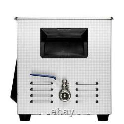 Commercial 20L Ultrasonic Cleaner Industry Heated Heater withTimer Jewelry Glasses