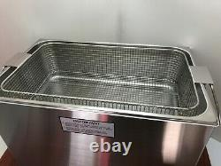 Crest CP1800D Ultrasonic Cleaner Heat/Timer/Power Control 5-Gallon with Basket