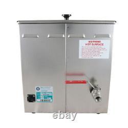 Crest P1100D-45 Ultrasonic Cleaner-Heat/Timer/Power Control-3.25 Gal