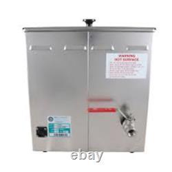 Crest P2600H-45 Ultrasonic Cleaner-Heat & Timer-7 Gal