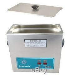 Crest Powersonic Ultrasonic Cleaner 1 Gallon Timer & Heat P360H-45 & Basket