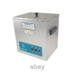 Crest Powersonic Ultrasonic Cleaner 3.25 Gallon Digital Timer, Heat, PC & Basket