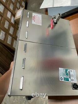 Crest Powersonic Ultrasonic Cleaner 5.25 G Digital Heat & PC P1800HTPC-45 115V