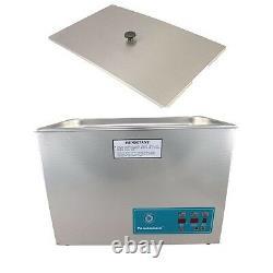 Crest Powersonic Ultrasonic Cleaner 5.25 Gallon Digital Timer, Heat, PC & Basket