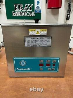 Crest Ultrasonic Cleaner 1.5G Digital Heat / Timer / Power Control P500HTPC-45 1