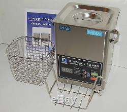 DSA70SE-GL2 3L 3.17QT 270W DUAL 20/40KHz DIGITAL HEATED ULTRASONIC PARTS CLEANER