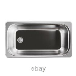 Dental Digital Ultrasonic Cleaner Heating Bath For Metal Hardware Fuel Injector