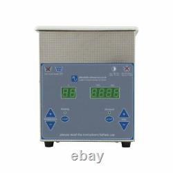 Digital Ultrasonic Cleaner 1.3 Litre Professional Tank Heated Ultrasonic Bath